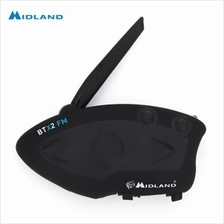 MIDLAND BTX2 FM MOTORCYCLE BLUETOOTH INTERCOM 800M SINGLE MULTI-USER I