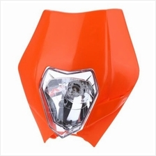 MOTORCYCLE HALOGEN HEADLIGHT INDICATOR FAIRING LAMPSHADE FOR DIRT BIKE