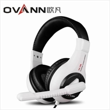 OVANN X3 PROFESSIONAL GAMING HEADSETS WITH MICROPHONE VOLUME CONTROL (