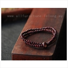 YN-3675	Buddha carved red Tan circle  佛字雕刻..
