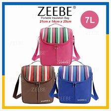 ZEEBE 7L Large Insulated Thermal Lunch Box Warm Cooler Food Bag CL1518