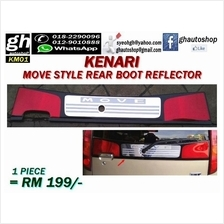 KENARI sporty MOVE STYLE rear boot reflector in red