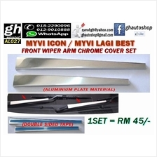 MYVI LAGI BEST / MYVI ICON sporty front wiper arm chrome cover set