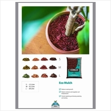 6.5 LITRE BABA ECO MULCH PREVENT WEEDS GROWING NATURAL