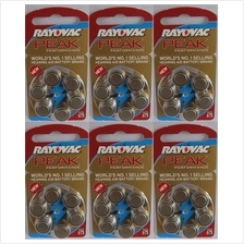Hearing aid battery 675 zinc air  A 675 batteries pack of 6 pieces X 6