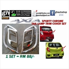 AXIA sporty chrome tail lamp trims cover set