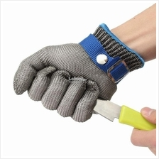 (1 Pcs) Anti Cut 316L Stainless Steel Metal Wire Mesh Resistant Gloves