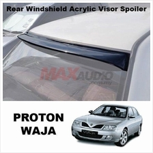 1 Unit !!* PROTON WAJA Smoke Black Rear Roof Windshield Visor