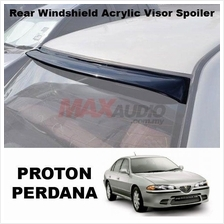 1 Unit !!* PROTON PERDANA Smoke Black Rear Roof Windshield Visor