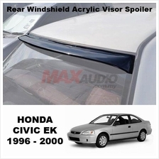 1 Unit !!* HONDA CIVIC EK 1996 Smoke Black Rear Roof Windshield Visor