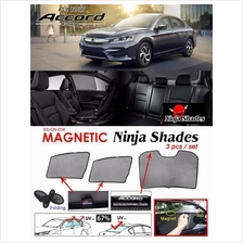 HONDA ACCORD 2016-2018 NINJA SHADES UV Proof Window Magnetic Sun Shade