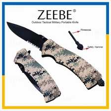 ZEEBE Outdoor Tactical Military Knife Spring Assisted Knife Knives 05