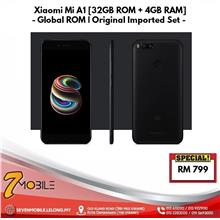Xiaomi Mi A1 - Android One [32GB ROM +4GB RAM] Global ROM | Sealed BOX