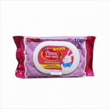 Pureen Baby Wipes 100s'' Pink