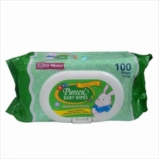 Pureen Baby Wipes 100s'' Green