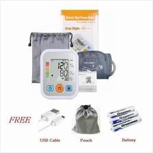 Blood Pressure Monitor Sphygmomanometer Pulse Blood Tester Upper Arm