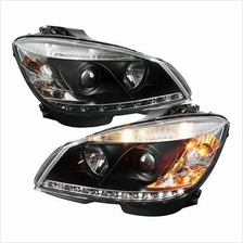 MERCEDES W204 C-Class 2008 - 2010 Starline Projector Head Lamp *Black