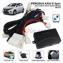 PERODUA AXIA G-Spec 2017 4in1 Plug and Play Add-on Alarm System Module