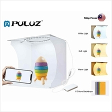 Puluz Mini Studio Portable Folding Photo Light Box ~ 2 LED Panels