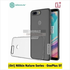 [Ori] Nillkin Natures Series TPU Case for OnePlus 5T (T.Black)