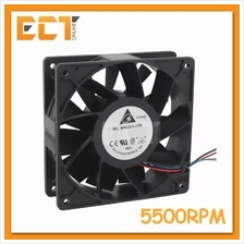 Delta PFC1212DE DC Brushless 12CM X 12CM 5500RPM High Speed Air Coolin