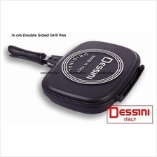 Sale! Desini Dessini 36CM JUMBO Sized Double Grill/Fry Pan. Must Have