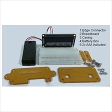 Microbit accessories casing edge connector breadboard battery box