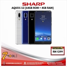 Sharp Aquos S2 5.5 Full Display [64GB ROM + 4GB RAM] - Ori Sharp MY