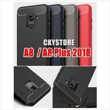 Samsung Galaxy A8 / A8 Plus 2018 Durable Protection FIBER TPU Case