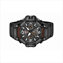 Casio Men Chronograph Resin Band MCW-100H-1AVCF