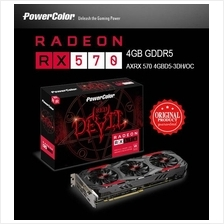 PowerColor Red Devil Radeon RX 570 4GB GDDR5 Gaming Graphics Card