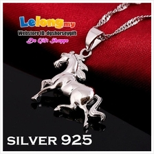 Horse Necklaces Silver 925