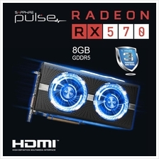 SAPPHIRE PULSE 8GB Radeon RX 570 8GD5 Gaming Graphics Card - Original