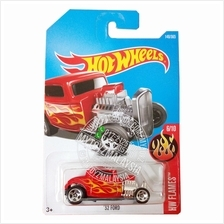 Hot Wheels 2017 HW Flames '32 Ford (red)