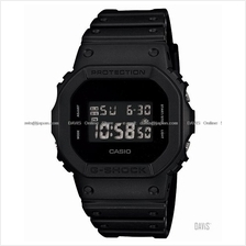 CASIO DW-5600BB-1 G-SHOCK basic black monotone resin strap all black