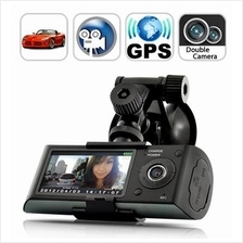 Zoom Dual Car Camera Recorder with GPS (WCR-23A) ★