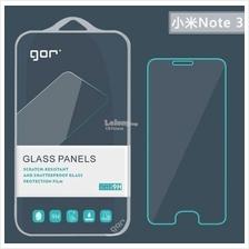 MI NOTE 3 ORI GOR Transparent TEMPERED GLASS