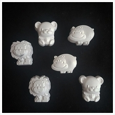 Zoo Collection Plaster Air Freshener Aroma Stone (6pcs)