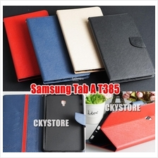 Samsung Galaxy Tab A 8.0 2017 T385 Standable Wallet ME2 Flip Case