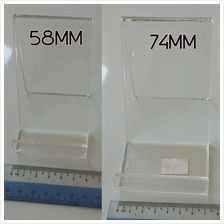 transparent holder stand for mobile phone and small accessories
