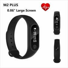 M2 Plus Heart Rate Monitor 0.86 Large OLED Touch Screen Activity Trac