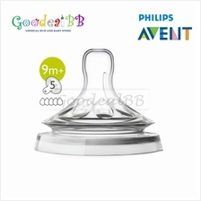 Philips Avent Teats Natural Extra Fast Flow 9M-2PCS/Pack - Natural 2.0