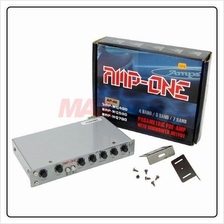 AMP-ONE 4-Band Pre-amplifier Parametric Equalizer w/ subwoofer output