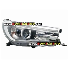 PU2459 Proton Preve PU Rear Skirt With Pipe  & Chrome Cover