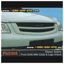 PU2358 Nissan Sylphy PU Front Grille With Cover  & Logo (Impul)