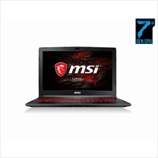 MSI GL62M 7RDX-1825MY Gaming Notebook