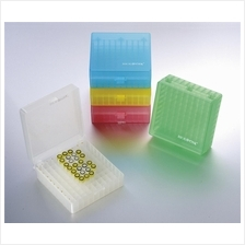 Biologix 100 Well PP Storage Boxes with Hinged Lid (5pcs/pack)