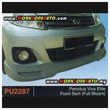 PU2287 Perodua Viva Elite PU Front Skirt (Full Bloom)