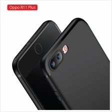 Oppo R11 Plus Soft Slim Back Case - Elegant Matte Design