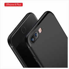 Apple iPhone 8 Plus Soft Slim Back Case - Elegant Matte Design